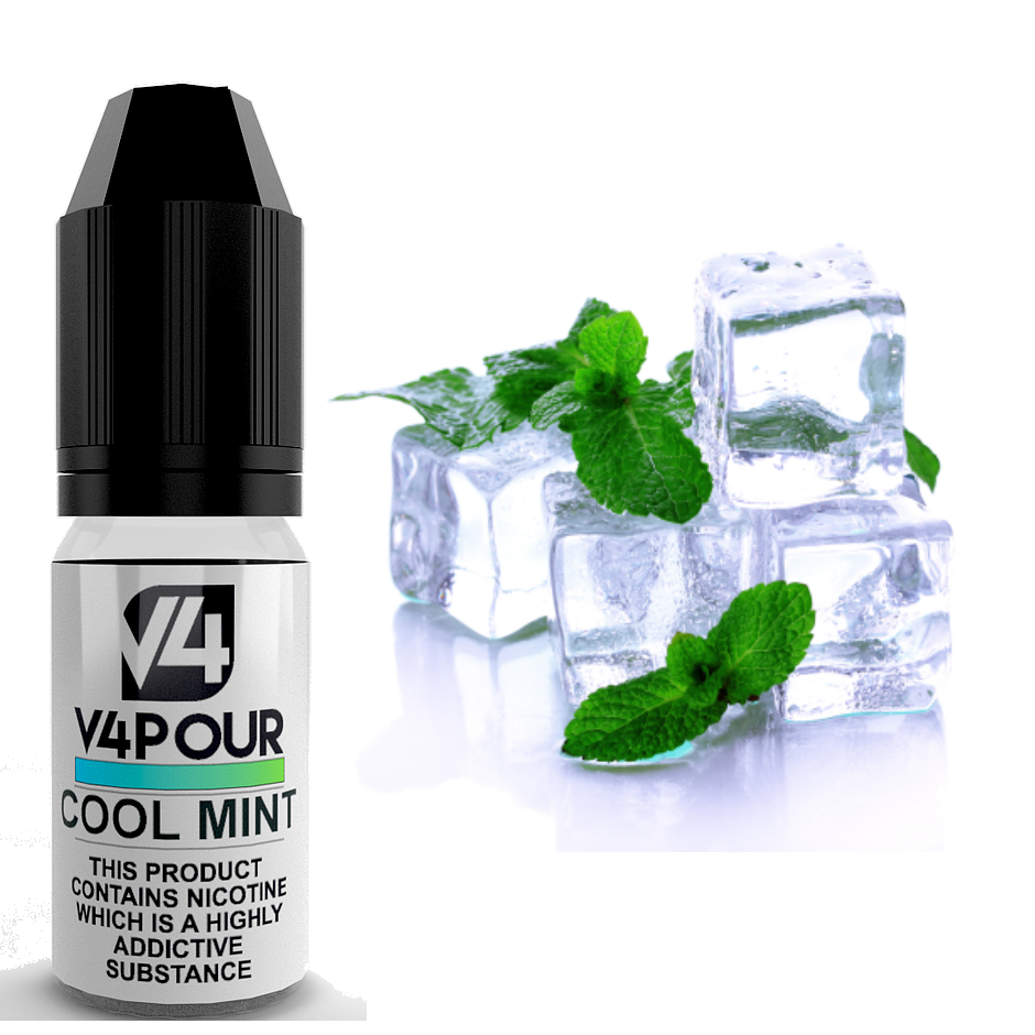 Cool Mint E Liquid by V4 V4POUR 10ml