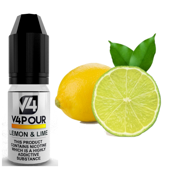 Lemon & Lime E Liquid by V4 V4POUR 10ml