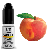 Peach E Liquid by V4 V4POUR 10ml