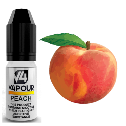 Peach E-Liquid by V4 V4POUR 10ml