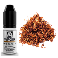 UK Cigarette E Liquid by V4 V4POUR 10ml
