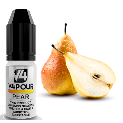 Pear E Liquid by V4 V4POUR 10ml