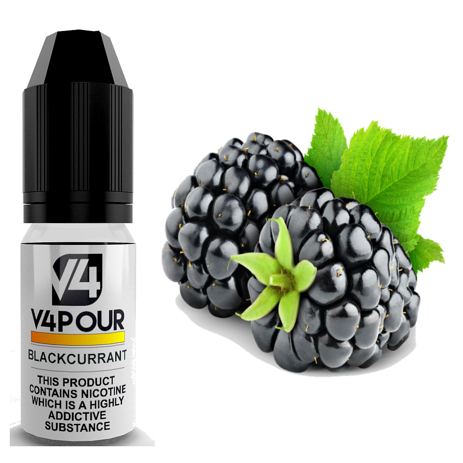 Blackcurrant E Liquid by V4 V4POUR 10ml