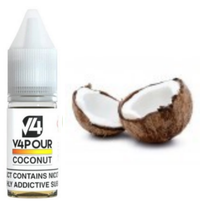 V4POUR Coconut 10ml E Liquid