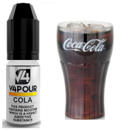 Cola E Liquid by V4 V4POUR 10ml