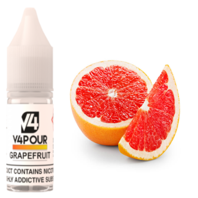 V4POUR Grapefruit 10ml E Liquid