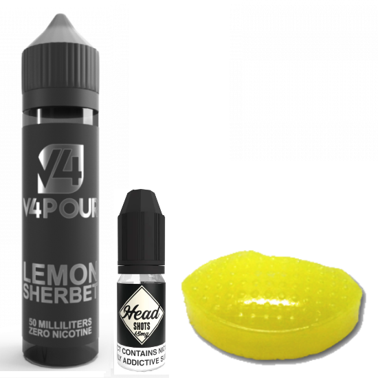 Lemon Sherbet by V4 V4POUR E Liquid | 50ml Short Fill