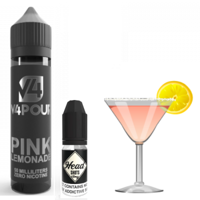 Pink Lemonade by V4 V4POUR E Liquid | 50ml Short Fill